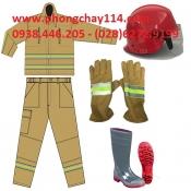 Quần áo chữa cháy theo thông tư 48