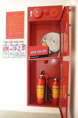 Quy trình nạp sạc bình chữa cháy
