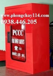 Tủ PCCC trong nhà (400x600x200) Thiết bị pccc Phát Đạt chuyên cung cấp tủ pccc, tủ chữa cháy trong