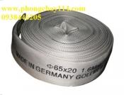 Vòi chữa cháy D65 10Bar sọc xanh, nặng 5,6kg
