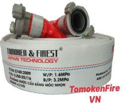 Vòi chữa cháy Tomoken D50/65 1.6Mpa