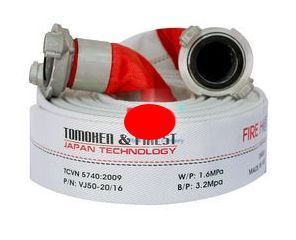 Vòi chữa cháy Tomoken DN50x20mx16Mpa VJ50-20/16